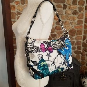 Carely Butterfly Rare Coach Purse!